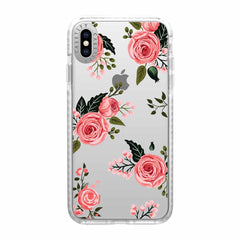 Casetify Impact Case Pink Floral Roses for iPhone XS Max