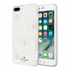 Kate Spade Protective Hardshell Case Hollyhock Floral for iPhone 8 Plus/7 Plus/6S Plus/6 Plus