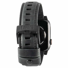 UAG Leather Strap Band Black for Apple Watch Series 6/SE 44/42mm