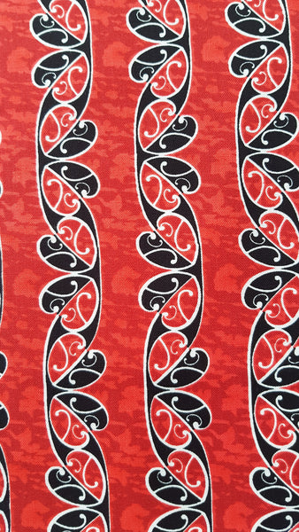 KORU (Red) Print - Beeswax Foodwraps - Large Size - 2 Pack