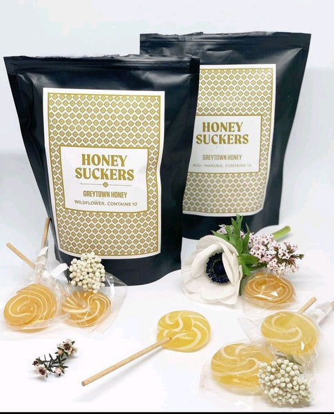 Wildflower Honey Suckers (10 pack)