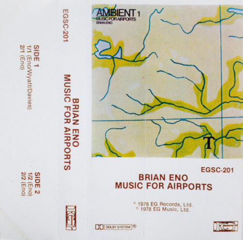 Brian Eno, Music for Airports - EGSC-201