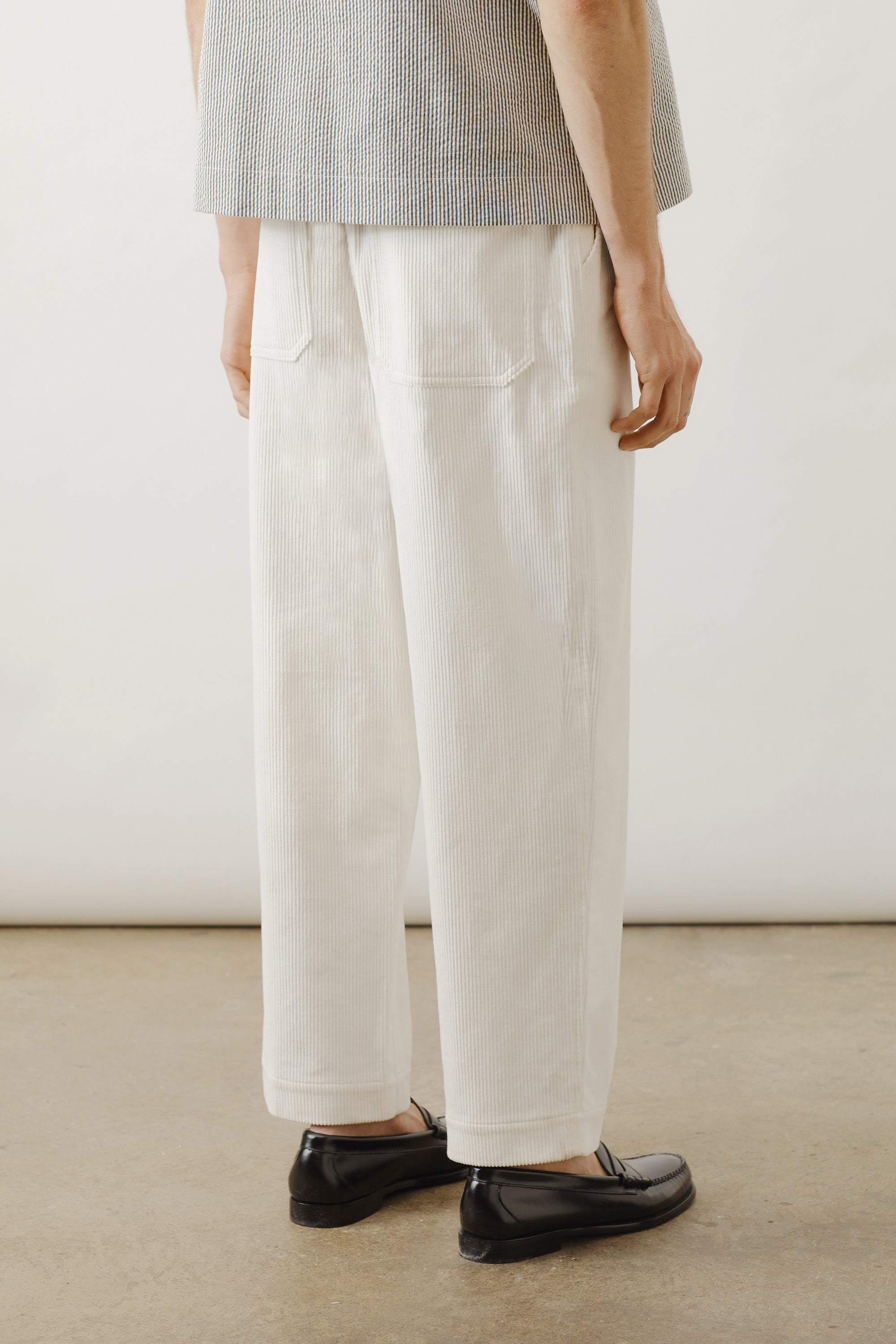 Cropped Corduroy Pant