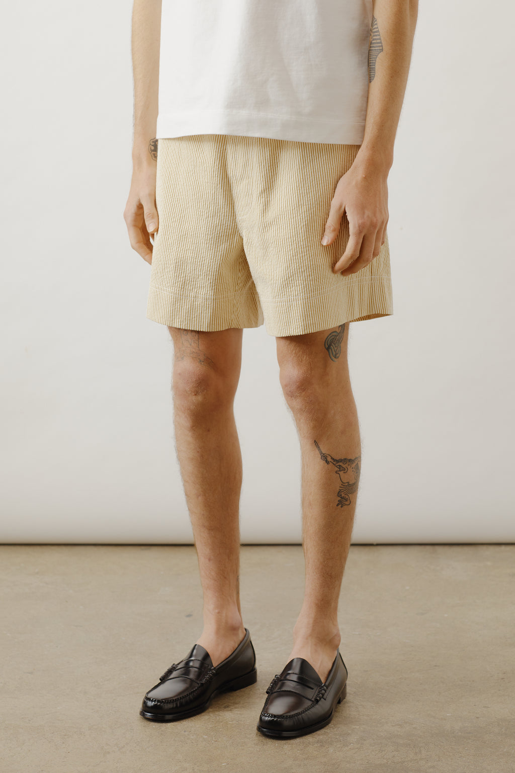 Japanese Yellow Stripe Short