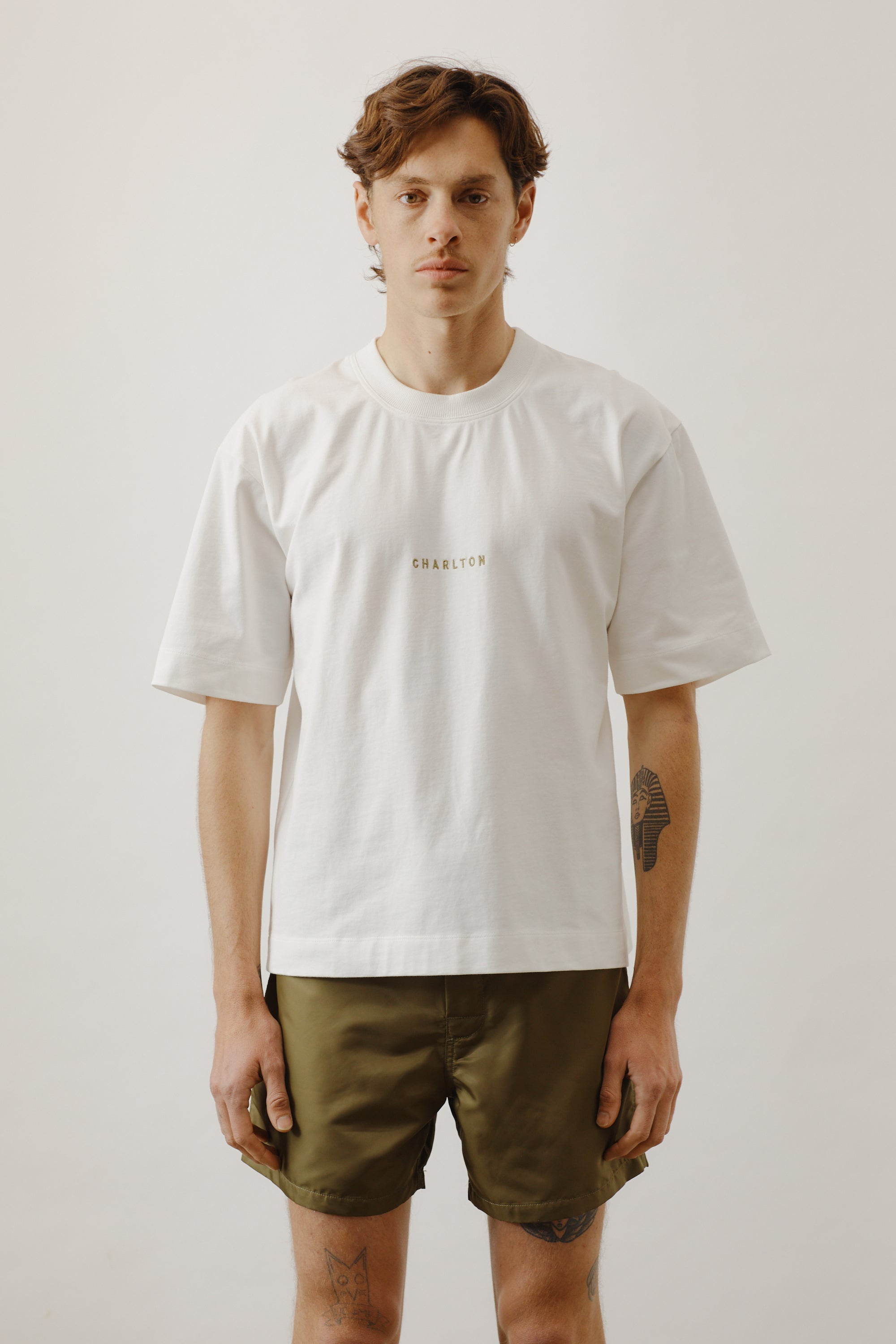 Embroidered Charlton T-shirt
