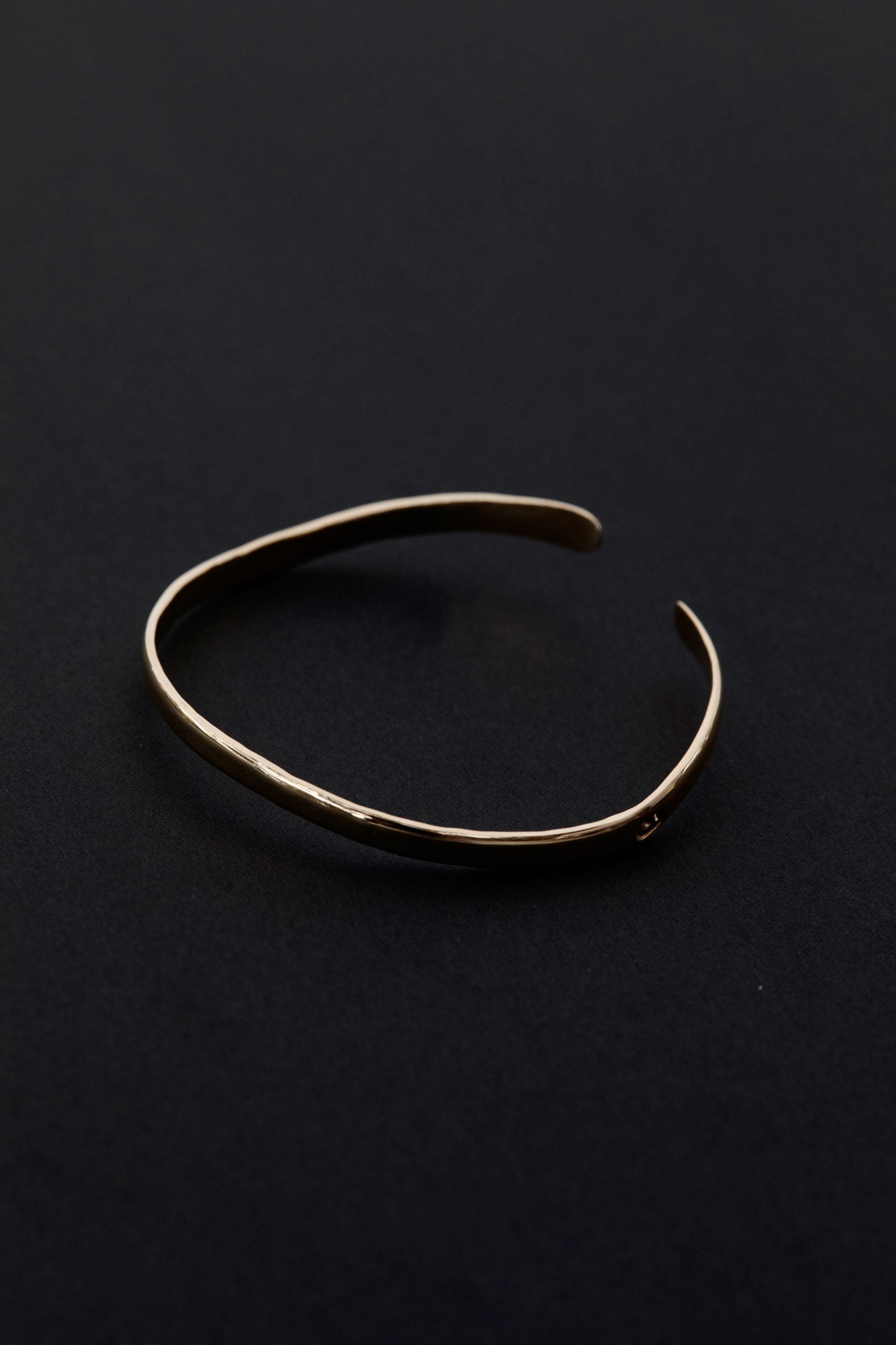 Charlton 18kt Gold 'Wave' Bangle