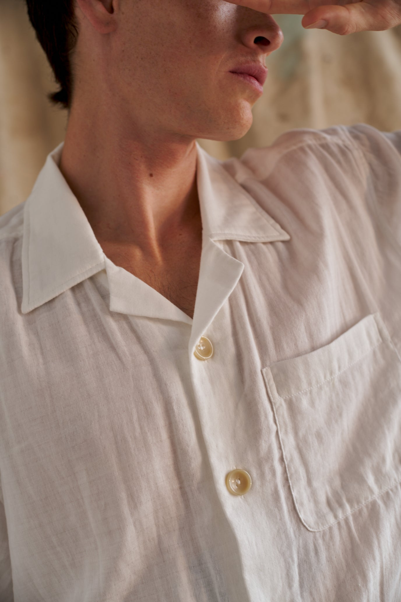 Japanese Cotton Gauze S/S Shirt