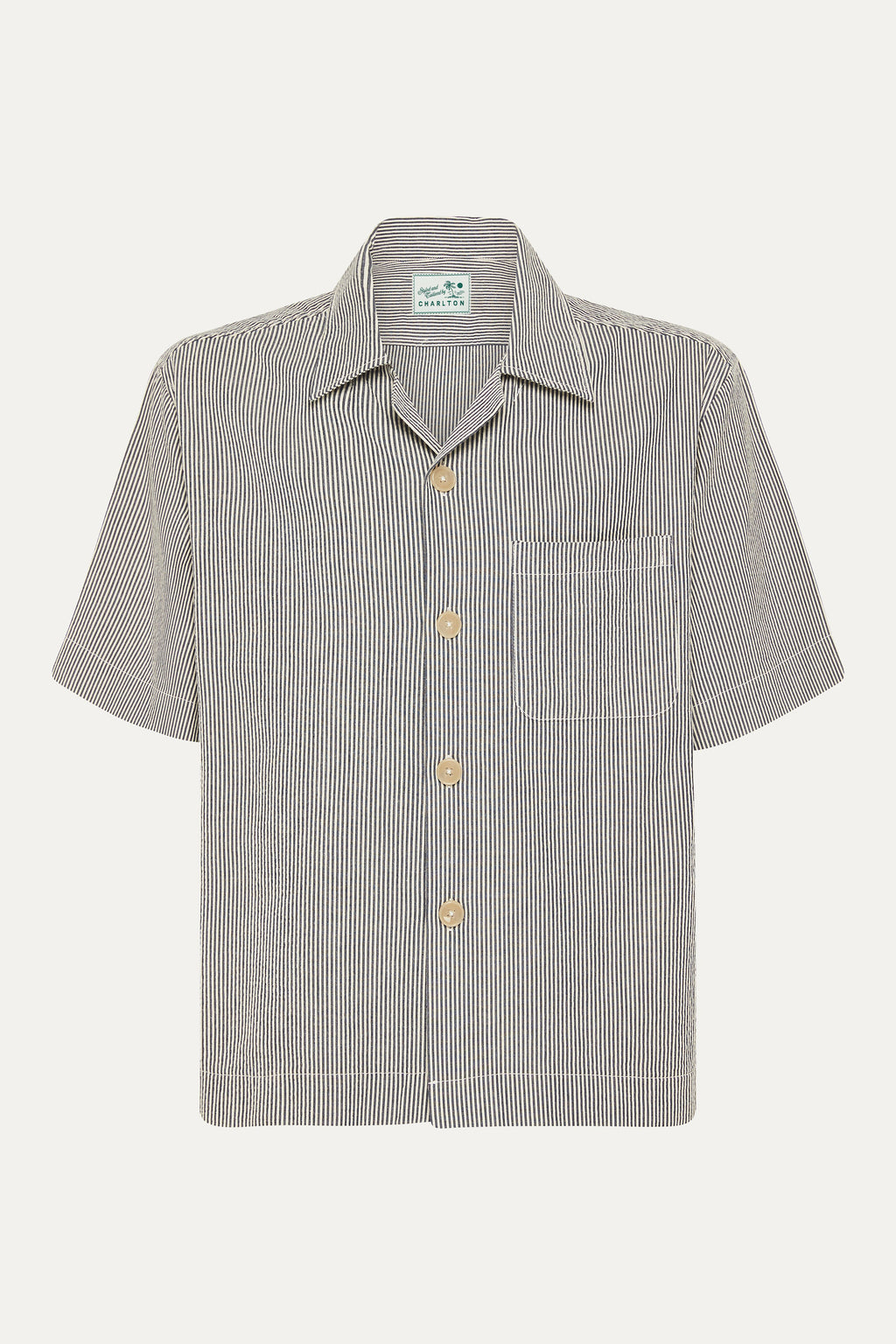 Japanese Blue Stripe Shirt