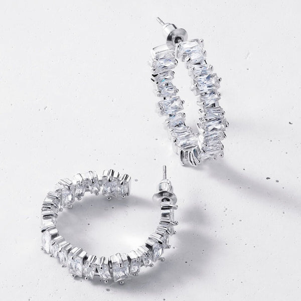 Lumen Hoop Earrings
