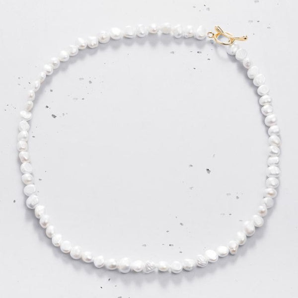 Margarita Pearl Choker Necklace