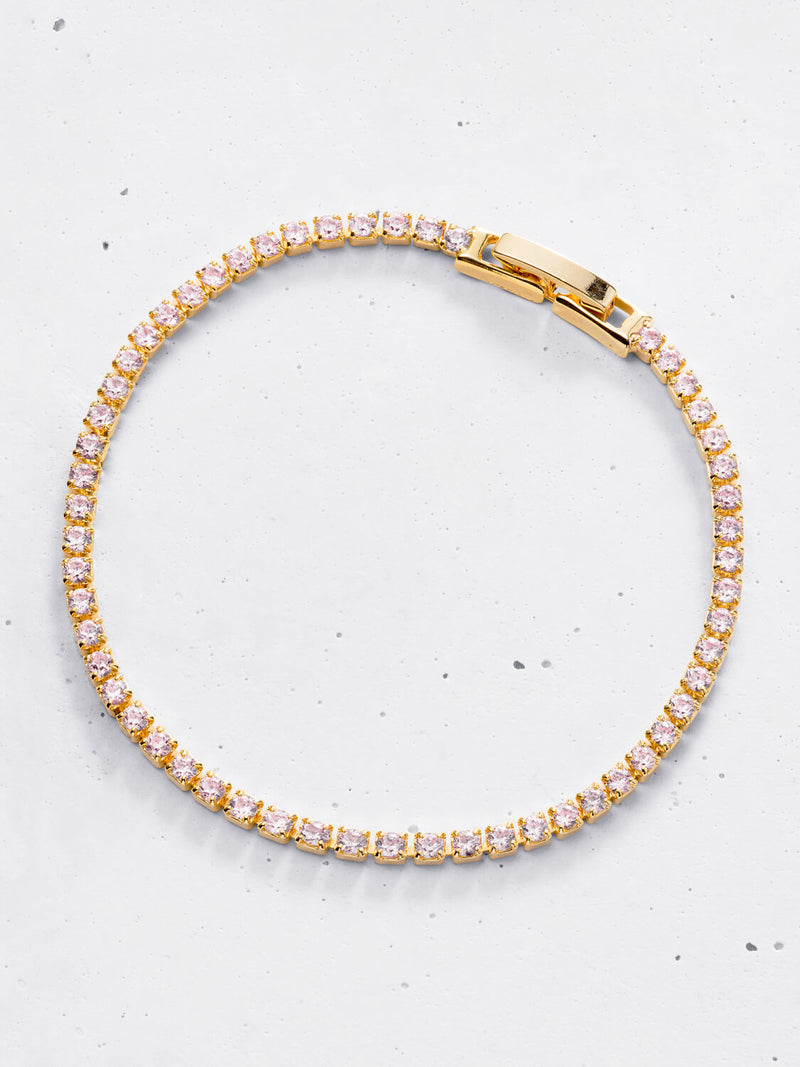 Linea Pastel Tennis Bracelet (2mm) | Summer Edition
