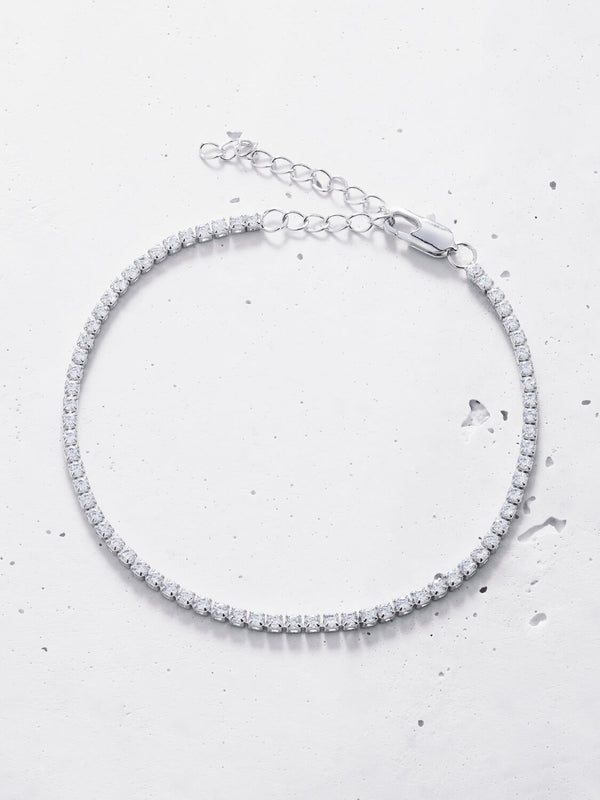Linea Crystal Anklet (2mm)