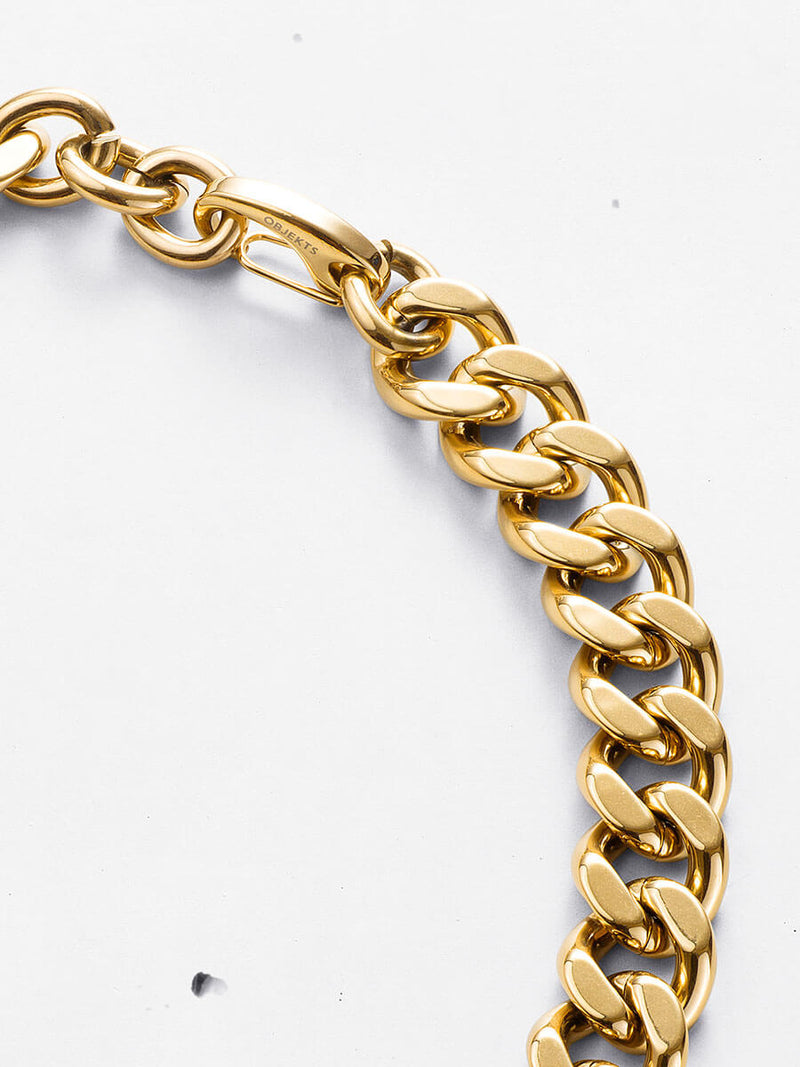 Ora Curb Chain Necklace (18 inch)