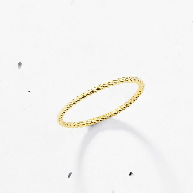 Feather Light Ring | Twist - 925 Sterling Silver