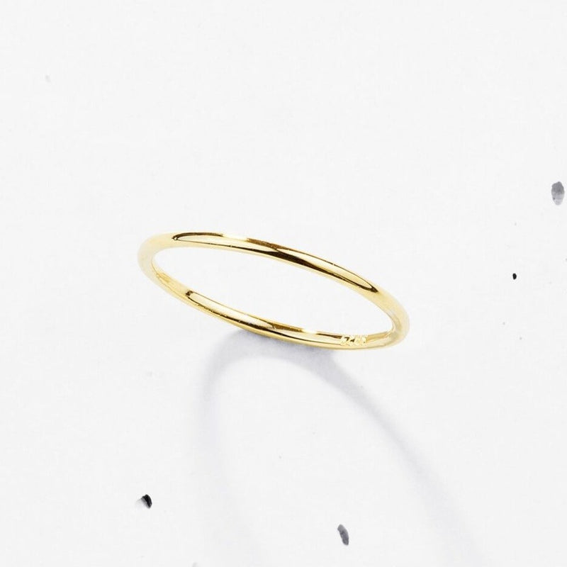 Feather Light Ring | Plain - 925 Sterling Silver