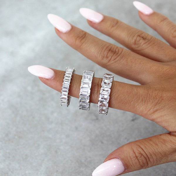 Eternity Band Set (3 pieces)