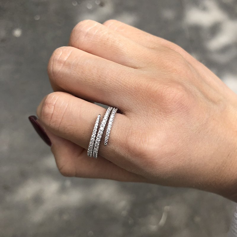 3 Layer Ring-OBJEKTS STORE-Stacking Rings-Fashion Jewellery-London UK
