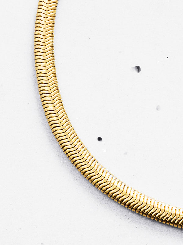 Snake Chain Necklace (3mm)