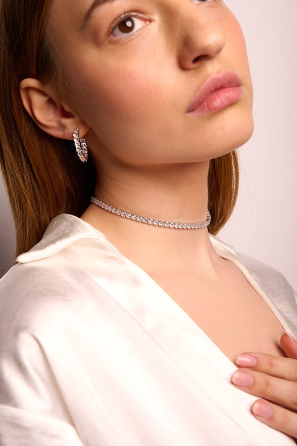 Linea Crystal Choker (4mm)