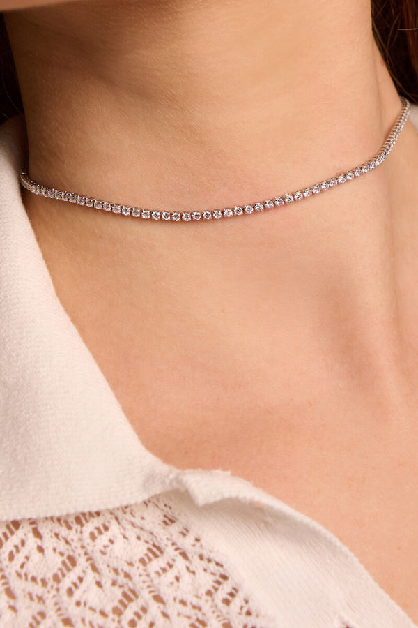 Linea Crystal Choker (2mm)