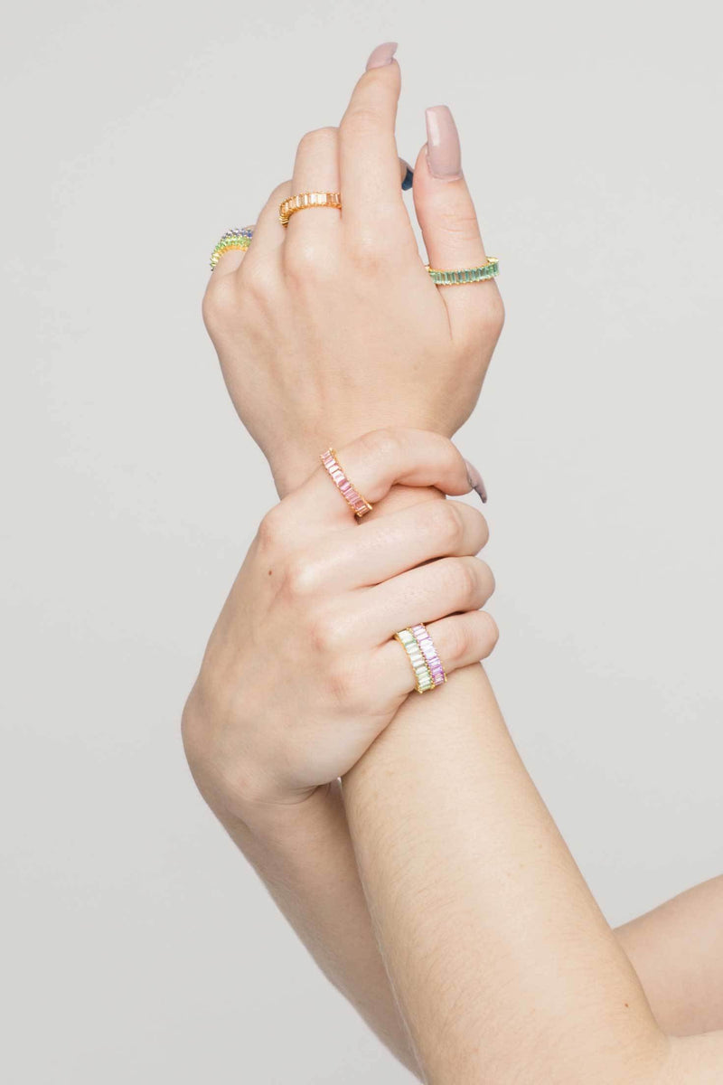 Adaya Stacking Ring-OBJEKTS STORE-Stacking Rings-Fashion Jewellery-London UK