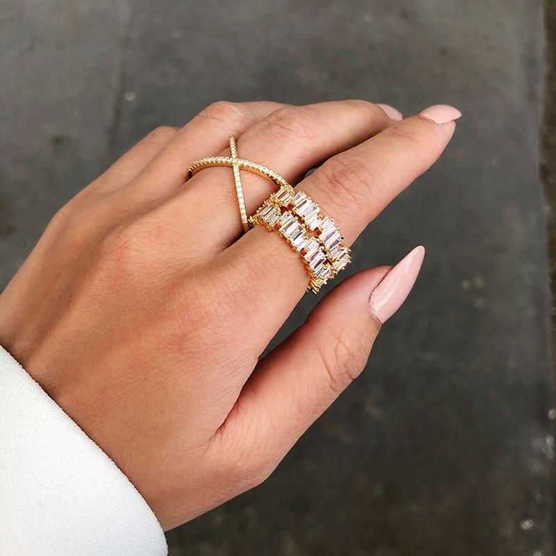 Signum Cross Ring-OBJEKTS STORE-Statement Fashion Jewellery-London UK