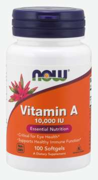NOW FOODS Vitamin A 10000 IU