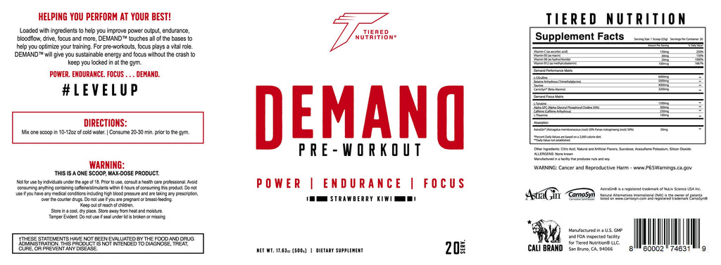 DEMAND™ by Tiered Nutrition