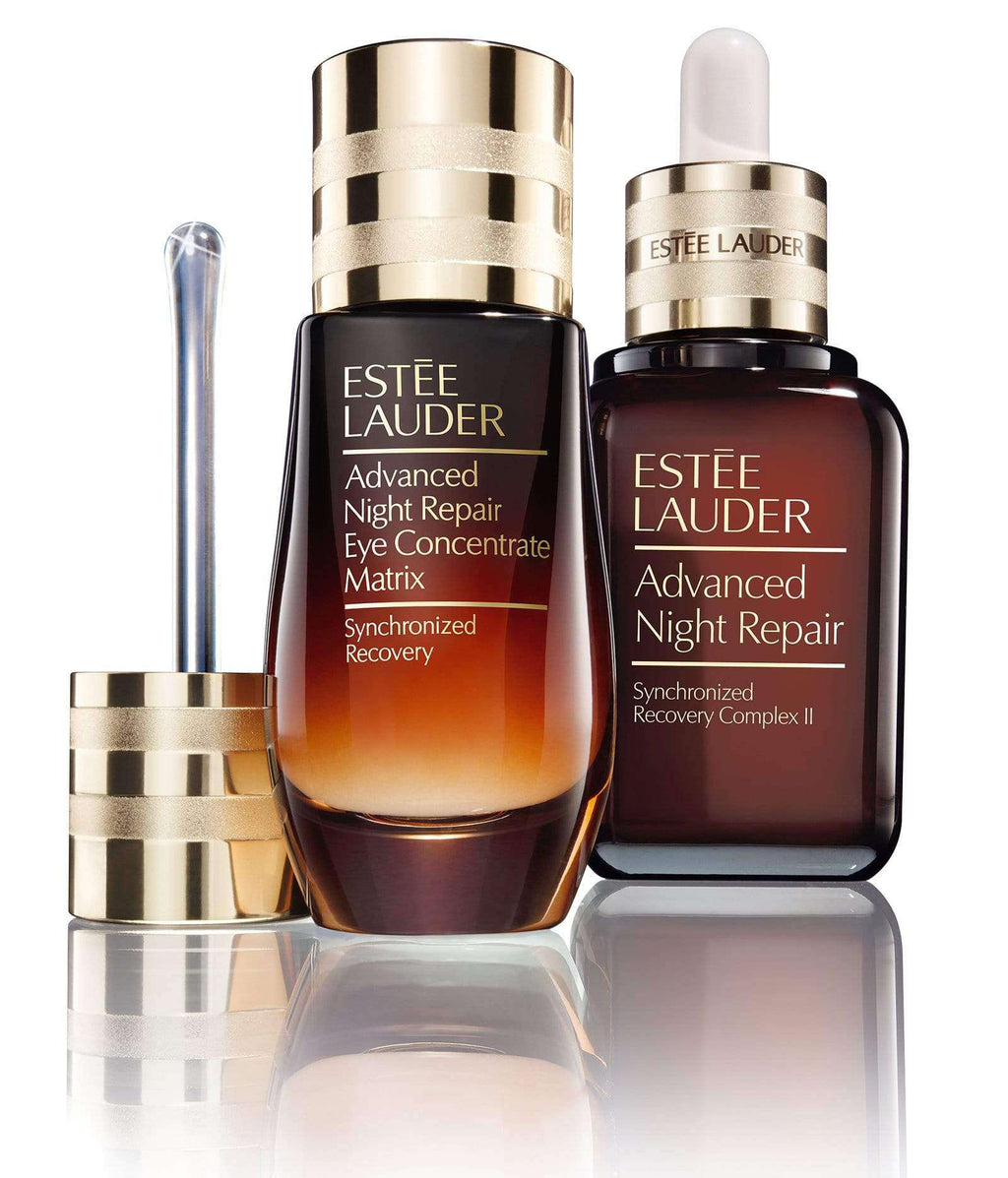 ESTEE LAUDER ADVANCED NIGHT REPAIR FOR FACE & EYES SERUM + EYE CONCENTRATE MATRIX