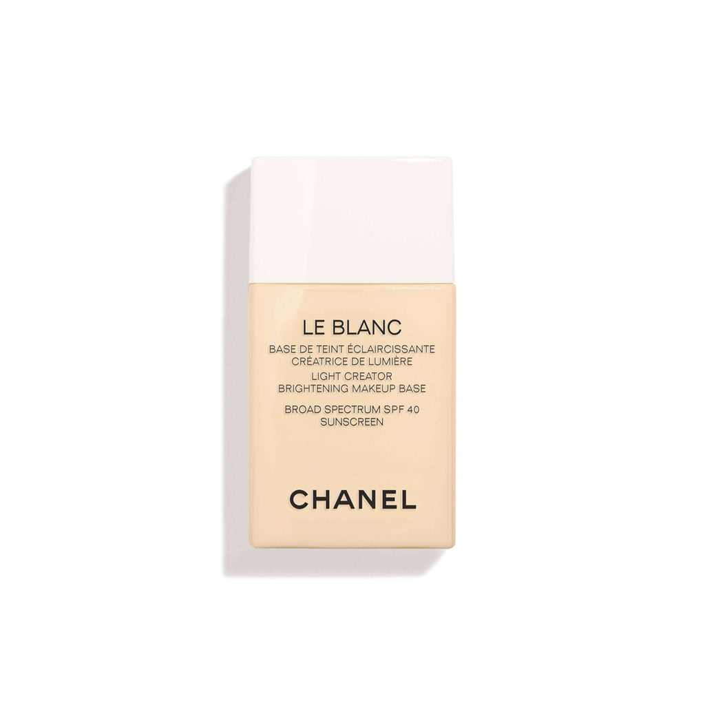 CHANEL  LE BLANC LA BASE CORRECTING BRIGHTENING MAKEUP BASE LONG-LASTING RADIANCE AND COMFORT / SPF 40 / PA +++