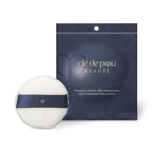 CLE DE PEAU BEAUTE POUDRE LIBRE TRANSPARENTE TRANSLUCENT LOOSE POWDER EXCLUSIVE PUFF