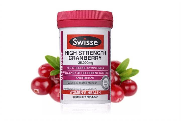 Swisse Ultiboost Concentrated Cranberry 30'S