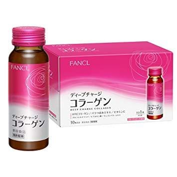 FANCL Deep Charge Collagen Drink (50ml x10)