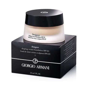 GIORGIO ARMANI DESIGNER CREAM FOUNDATION SPF 20