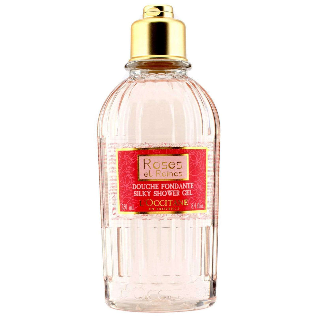 LOCCITANE ROSES ET REINES BATH AND SHOWER GEL 250ml