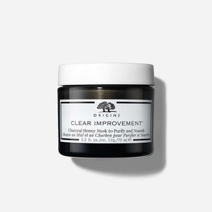 ORIGINS - CLEAR IMPROVEMENT CHARCOAL HONEY MASK TO PURIFY AND NOURISH 75ml