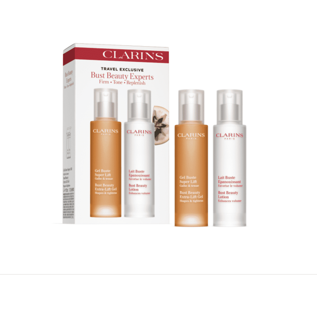 CLARINS BUST BEAUTY EXPERTS