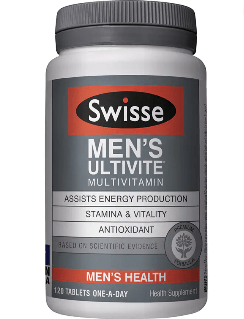 Swisse Men's 50+ Ultivite Multivitamin 120'S