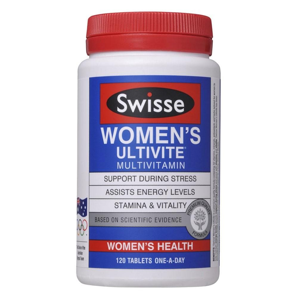 Swisse women's ultivite 120 tablets