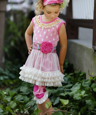Giggle Moon Garden of Love Tutu Set