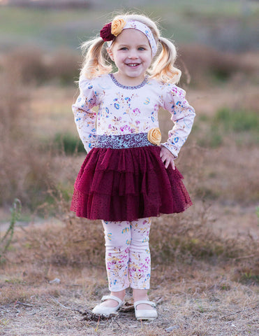 Giggle Moon Water into Wine Tutu Set