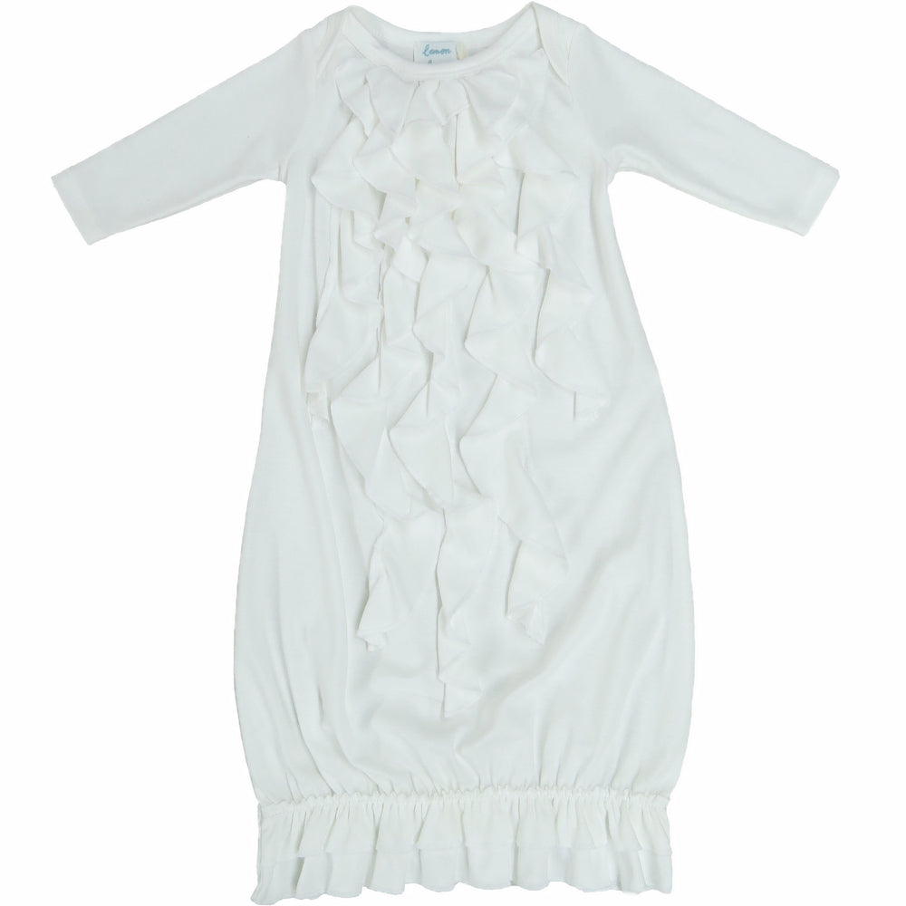 Lemon Loves Layette Angel Gown in White – Pixie Stix Boutique