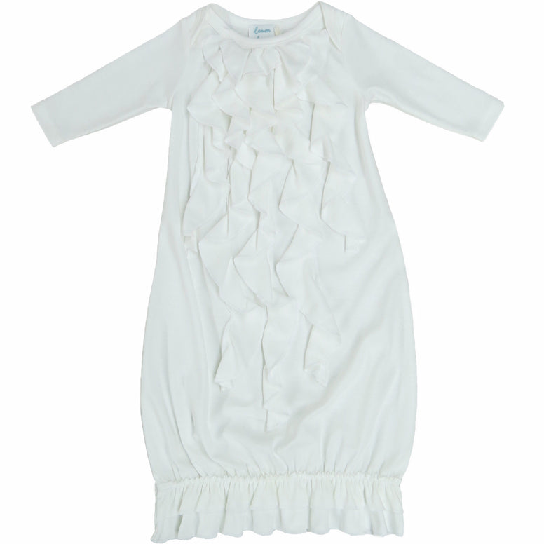 Baby Girl Christening Gown by Lemon Loves Layette