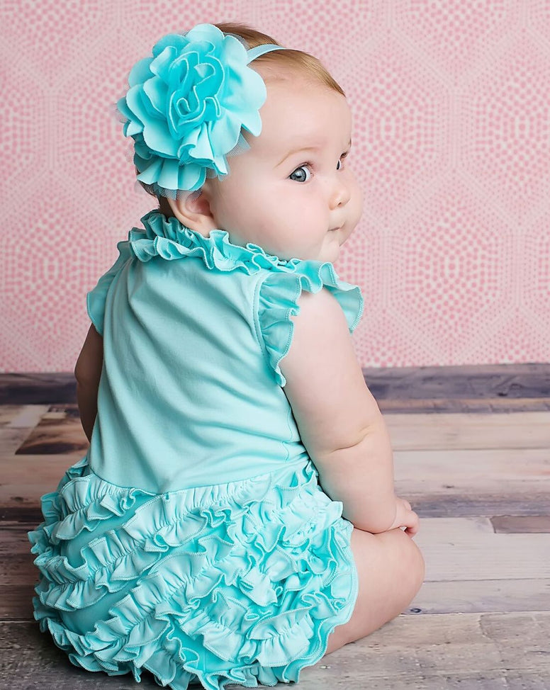 lemon loves layette rula romper blue tint