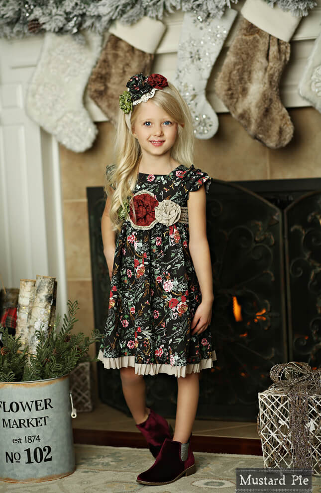 Mustard Pie Holiday Delphine Dress