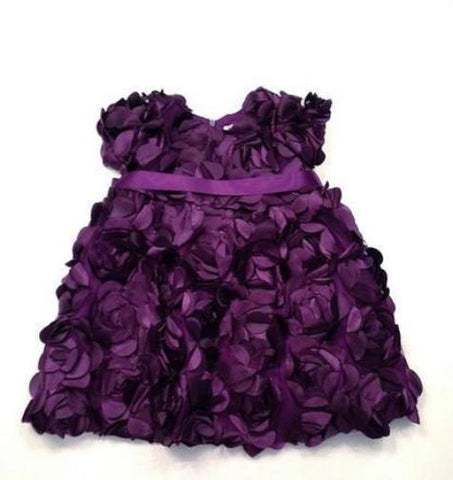Dresses - Halabaloo All Over Petal Violet Dress