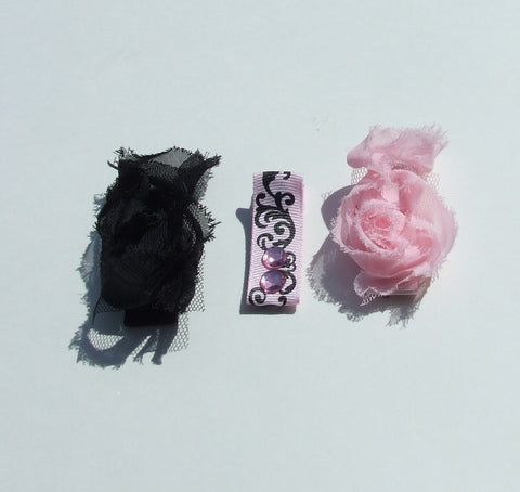 Hair Accessories - Rosette Hair Clip