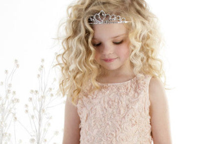 Girls Jeweled Tiara Crown