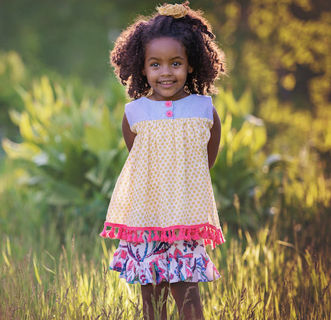 Toddler Outfits - Persnickety Wild Flower Avery Top