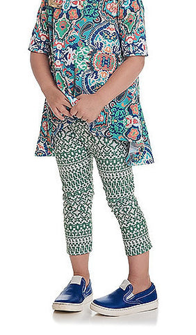 Toddler Outfits - Persnickety Wonderstruck Green Lisel Legging